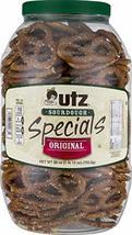 Utz Quality Foods Pretzel Barrels (Original Sourdough Special 28 oz, 2 Barrels) - $32.15