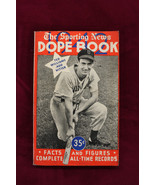 1942 The Sporting News Dope Book Ted Williams On The Cover Red Sox - $44.55