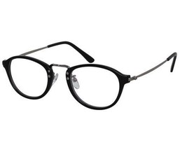 Reading Glasses Unisex Round Horned Rim Black High ckbtr9070-black-silver - $21.66+