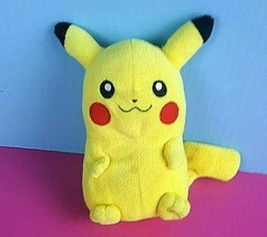 "Pokemon Plush Pikachu 8"" Zippered Pouch Stuffed Animal Money Coin Holder Bag - $17.81"