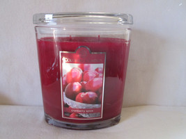 Colonial Candle 22 oz Jar ~~CRANBERRY SPICE~~ Oval w/ lid 2 wick - $34.99