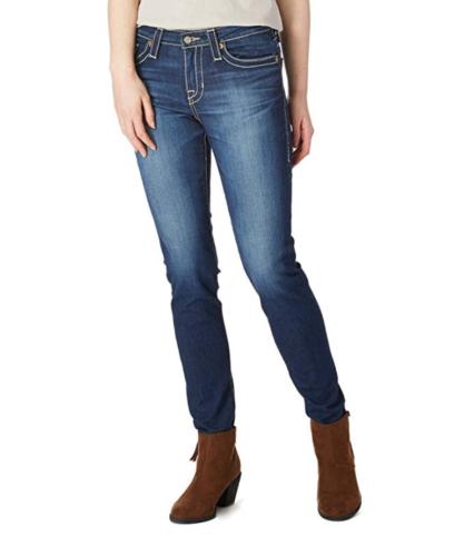 Big Star Jeans Women's DANA High Rise Curvy Skinny Denim Pants in Beachwood NEW