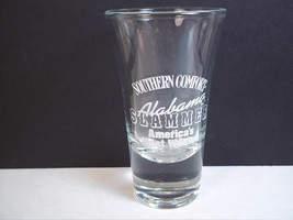 Southern Comfort Alabama Slammer tapered shot glass America's Most Wanted - $6.19