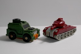 Takara 1984 G1 Transformer Mini Vehicles Brawn Land Rover Warpath Tank - $13.99