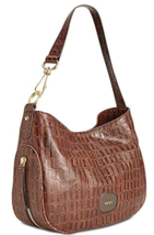 DKNY Randall Size Large Magentic Snap Closure Leather Shoulder Hobo Bag ... - $155.99