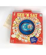 "Vintage NEW 1983 Mattel Preschool See 'N Say ""The Bee Says"" Alphabet Toy... - $89.09"