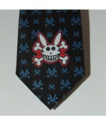 JIM BENTON It's Happy Bunny necktie  Psycho - $19.34