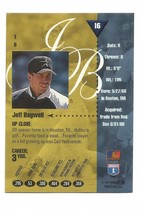 Jeff Bagwell 1994 Leaf Studio Card #16 Houston Astros Free Shipping image 2