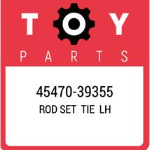 45470-39355 Toyota Rod Set Tie Lh, New Genuine OEM Part - $106.91