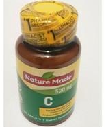 Nature Made Vitamin C 500 mg Full Immune Support Supplement 100 Caplets ... - $14.84