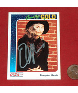 Emmylou Harris 1992 CMA Country Gold Music Card #57 Sterling NRMT - $29.68