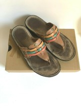 UGG Leather Summer Sandals US 6 UK 6.5 EU 39 Southwestern Woman's  - $27.71