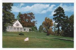 Golf Club House Hendersonville North Carolina postcard - $4.46