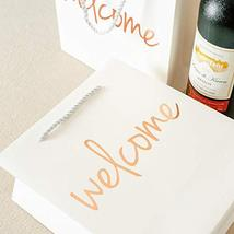 Crisky Welcome Bags Rose Gold Gift Bags for Wedding Hotel Guests, Birthday, Baby image 2