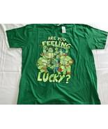 "Teenage Mutant Ninja Turtles ""Are You Feeling Lucky?"" T-shirt Men's Size... - $20.09"
