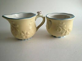 COUNTRY INN HOME INTERIORS CREAMER SUGAR BETTER HOMES COLLECTION No LIDS - $16.79