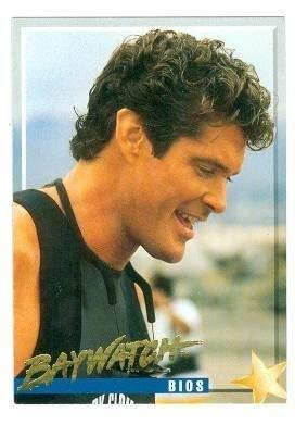 David Hasselhoff trading card Baywatch 1995 #3 Mitch Buchannon