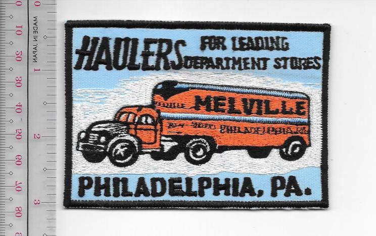 Vintage trucking   van lines pennsylvania melville trucking philadelphia  pa  usa 14.99