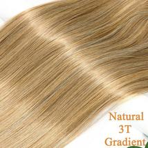 NEW 11'' Lady Hair Topper Real One Piece Full Head Clip In Hair Extension image 5