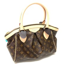 AUTHENTIC UNUSED LOUIS VUITTON Monogram Tivoli PM Hand Bag Brown M40143 - $1,520.00
