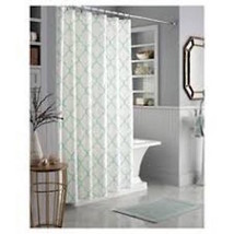 "Threshold Mint Trellis Shower Curtain 72"" x 72"" - Brand New Sealed - $46.71"