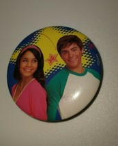 Vintage Disney High School Musical Button Pin Children's Collectable Jew... - $6.00