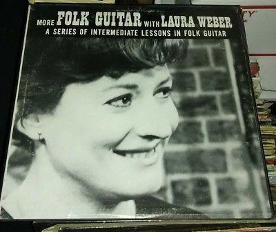 More Folk Guitar With Laura Weber vinyl LP