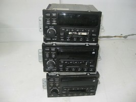 Delco Car Radio AM/FM Cassette CD Players 3 Units (A) OEM 16216424 16249434 - $23.47