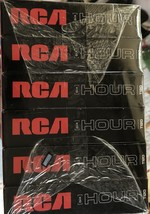 6 Pack RCA 6 Hour T120 VHS Video Cassette Tapes Blank New - $25.00