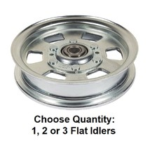Flat Idler Deck Pulley fits Bad Boy 033-7201-00 MZ ZT Outlaw Series 48 5... - $30.25+