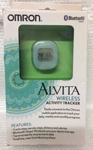 OMRON ALVITA WIRELESS ACTIVITY TRACKER ~ LIGHT BLUE ~ APP CONNECTIVITY - $277,21 MXN