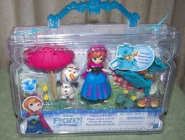 "Disney Princess Little Kingdom FROZEN Summer Picnic 3"" Doll Mini Playset... - $14.88"