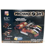 Block Tech Mechanix 3-in-1 Super Sports Race Set 165 Pieces New - $14.84