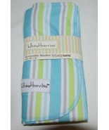 Wheatberries Baby Ganz Reversible Blanket For Birth And Up - $32.00