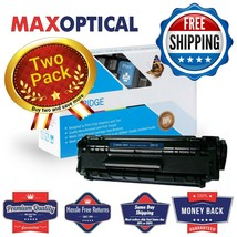 Max Optical 2Pack For HP Q2612A Compatible Black MICR Toner Cartridge - $100.69