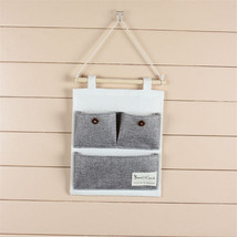 Rectangle Hanging Storage Bag Bathroom Kitchen Wall-mounted Cosmetic Org... - €4,37 EUR