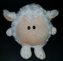 """Plushland White Sheep Lamb Bean Bag Plush 6"""" Stuffed Animal Toy 2011 - $16.78"""