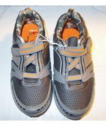 Active Flex Toddler Boys Athletic Tennis Shoes Gray Orange Size 5 NWT - $7.99