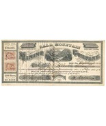 1864 R27b, R42b on Bald Mountain Mining Co. stock certificate, Forest Ci... - €371,37 EUR