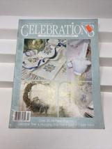 Leisure Arts Celebrations to Cross Stitch and Craft Magazine Winter/Spri... - $9.89
