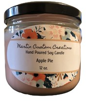 Soy Candle - Hand Poured - 12 oz  - $12.30