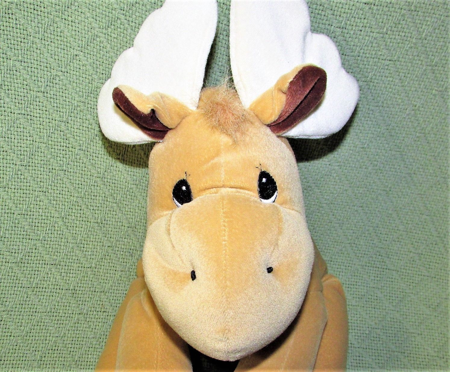 """Enesco TENDER TAILS MOOSE 12"""" Plush PRECIOUS MOMENTS Stuffed Animal Sticky Hands image 3"""