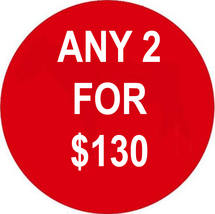 FLASH TUESDAY DEAL PICK ANY 2 FOR $130 DEAL BEST OFFERS MAGICK  - $130.00