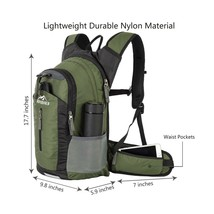 Insulated Hydration Water Backpack Pack with 2.5L BPA Free Bladder Sport... - $45.09