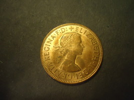 1967 Shiny English Large Penny >>Combined Shipping - $3.75