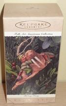 1995 Hallmark Ornament New in Box ~ Fishing Party - $3.91