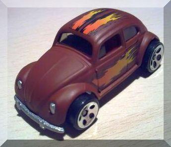 Hot Wheels - VW Bug: Collector #175 (2001) *Brown Edition / 5DOT / 1966*