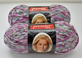 Deborah Norville Collection Serenity Sock Weight Yarn - 2 Skeins Chili #... - $12.30