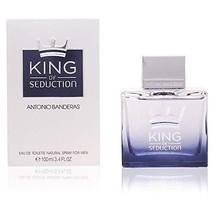 Antonio Banderas King of Seduction Men Eau de Toilette Spray, 3.4 Ounce - $18.83
