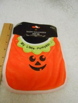 New My Little Pumpkin Baby Bib velvet soft - $4.94